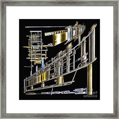21st Century Erector Set ? Framed Print by Walt Foegelle