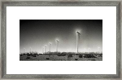 21st Century Green Framed Print by Mike McMurray