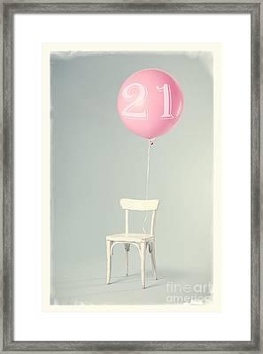 21th Birthday Framed Print by Edward Fielding