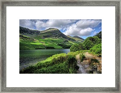 Buttermere Framed Print by Nichola Denny