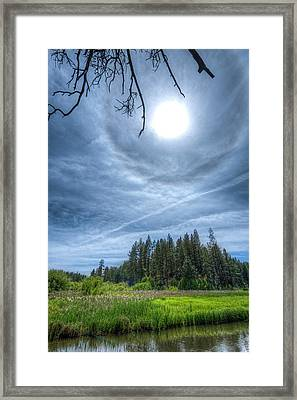 22 Degree Halo Framed Print