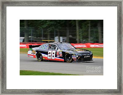 Toyota Camry Racing Framed Print