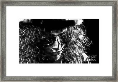 Slash Collection Framed Print by Marvin Blaine
