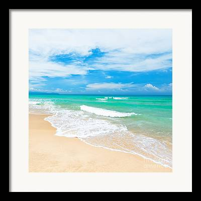 Seascape Photographs Framed Prints