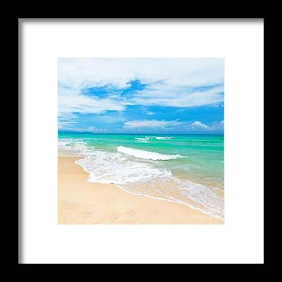 Sand Framed Prints