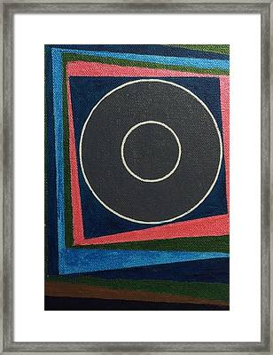 Circle Group Framed Print by Hang Ho