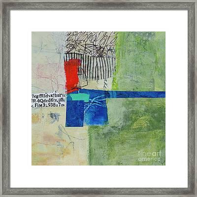 Framed Print featuring the mixed media 23 by Elena Nosyreva