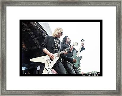 The Dead Daisies  Framed Print by Jenny Potter