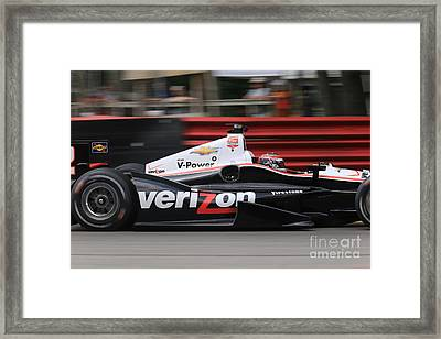 Indianapolis 500 Indycar Racing Framed Print