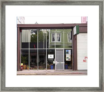 24 No Framed Print by Tom Hefko