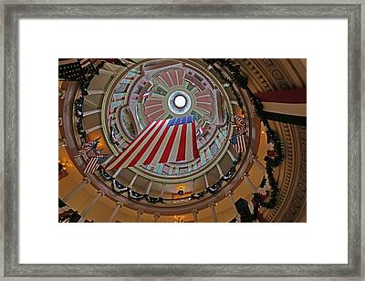 Old Courthouse Framed Print by Michael Munster