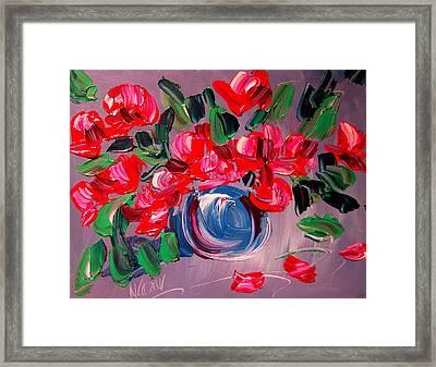 Roses Framed Print by Mark Kazav