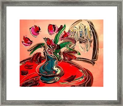 Tulips Framed Print by Mark Kazav