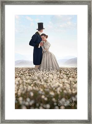 Victorian Couple Framed Print by Lee Avison