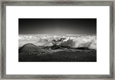 240,000 Miles Away Framed Print by Eduard Moldoveanu
