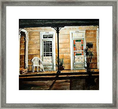 2446- 2444 Framed Print by Thomas Akers