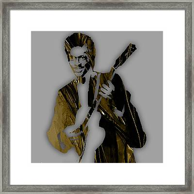 Chuck Berry Collection Framed Print
