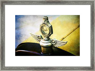 25 Dodge Brothers Framed Print by Cathie Tyler