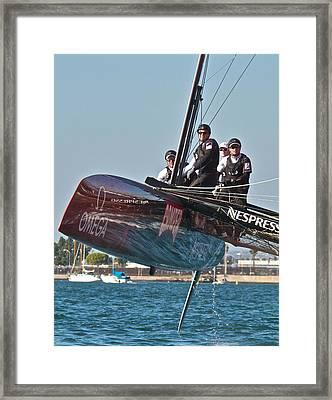 Emirates Team New Zealand Framed Print