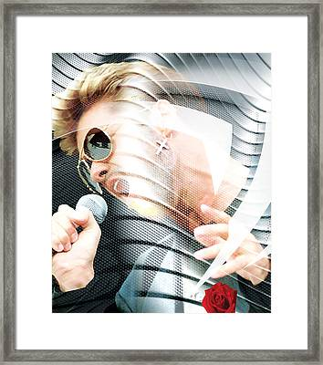 George Michael Collection Framed Print