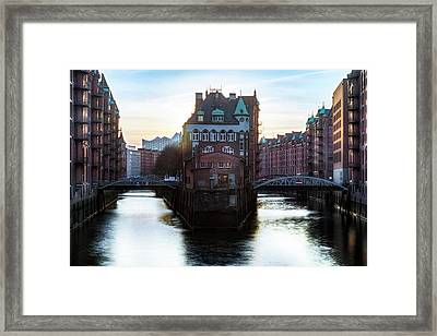 Hamburg - Germany Framed Print by Joana Kruse