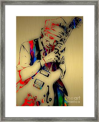 Keith Richards Collection Framed Print