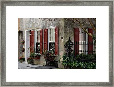 25 Queen St Framed Print