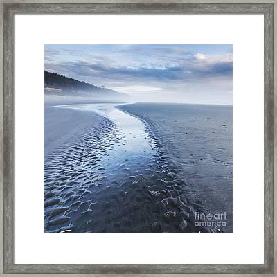 Second Beach Framed Print