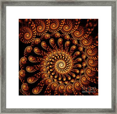 250-rolled Up Framed Print by Silvia Giussani