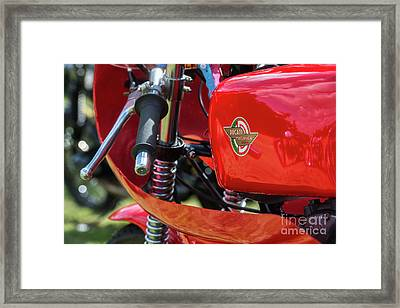 250cc Racer Framed Print