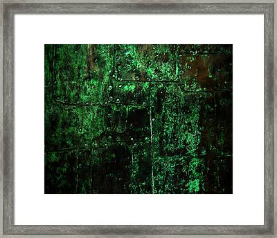 2525 Ad Copper Wall 02 Framed Print by Nilla Haluska