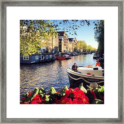 25th April Xx15 Koningsdag Framed Print