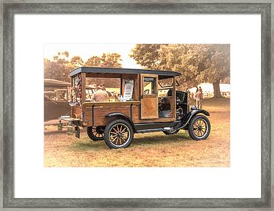 '26 Model T Framed Print by Charles 'Duck' Unitas