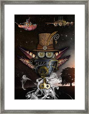 Steampunk Art Framed Print by Marvin Blaine