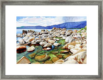 #264 Crystal Bay 3 Framed Print