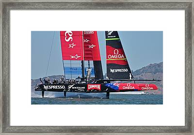 America's Cup San Francisco Framed Print