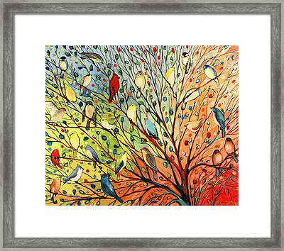 27 Birds Framed Print