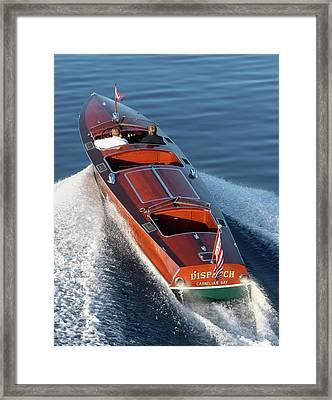 classic Gar Wood Framed Print by Steven Lapkin