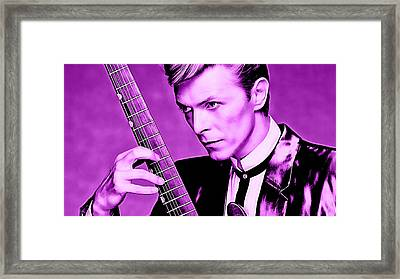 David Bowie Collection Framed Print