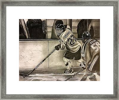 #27 Kenny Orlando  Framed Print by Gary Reising
