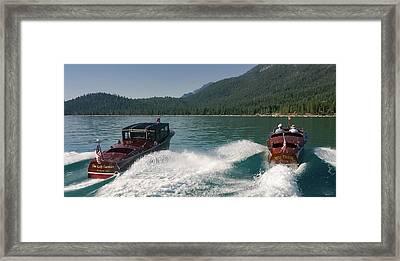 Tahoe Classics Framed Print by Steven Lapkin