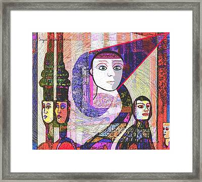 275 - Statuesque Framed Print by Irmgard Schoendorf Welch