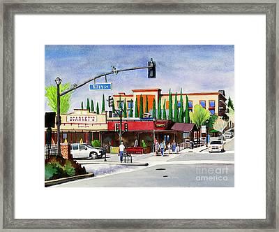 #276 Riley Street Framed Print