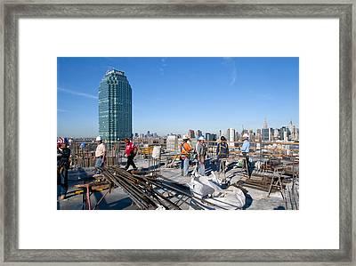 27th Street Lic 3 Framed Print