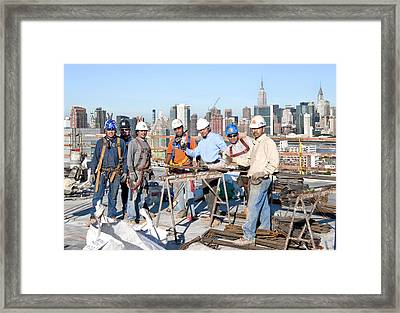 27th Street Lic 4 Framed Print