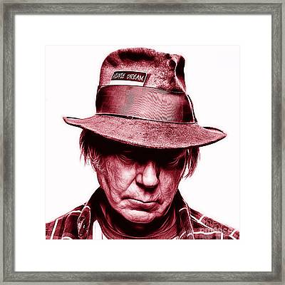 Neil Young Collection Framed Print