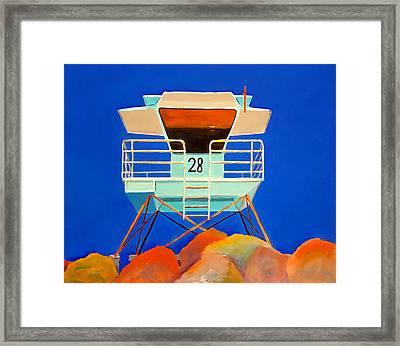 28 South Carlsbad Framed Print by Karyn Robinson
