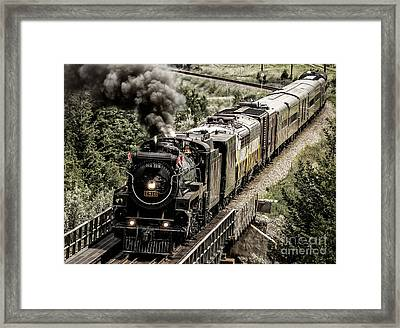 2816 Empress At Seebee Crossing Framed Print