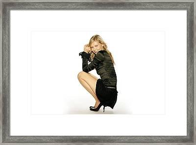 28620 Kirsten Dunst Framed Print by F S