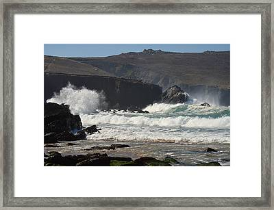 Clogher Beach Framed Print